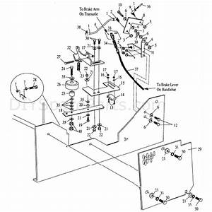 Hayter Condor  510s  Parts Diagram  Speed Control Assy