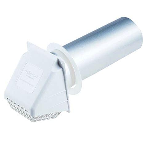 "Deflecto Dryer Vent Hood, 4"", White (rvhaw4) New"