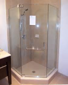 Hinged Glass Shower Doors by Neo Angle Shower Door King Shower Door Installations