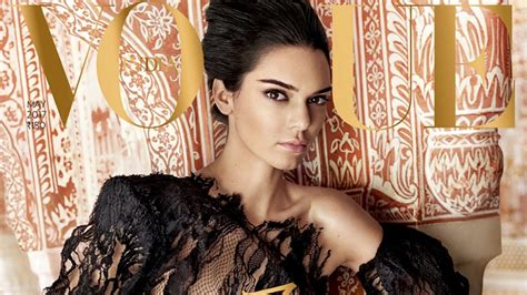 latest vogue cover kendall jenner gives repeat see through dress performance