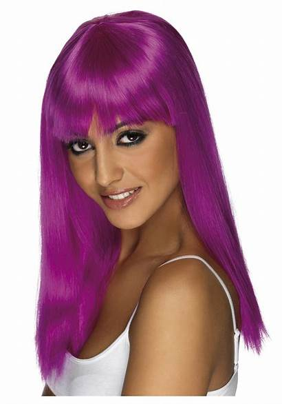 Wig Neon Purple Glamourama