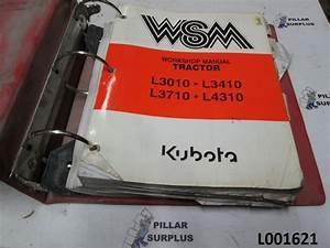 Kubota L3010  L3410  L3710  L4310 Tractor Workshop Manual 97897