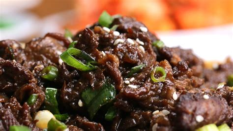 bulgogi recipe bulgogi korean bbq beef recipe dishmaps