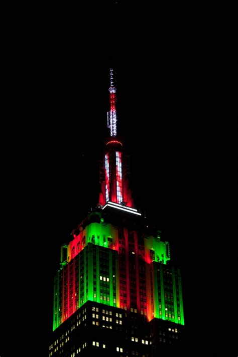 empire state building lights tower lights empire state building