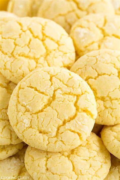 lemon crinkle cookies cooking classy