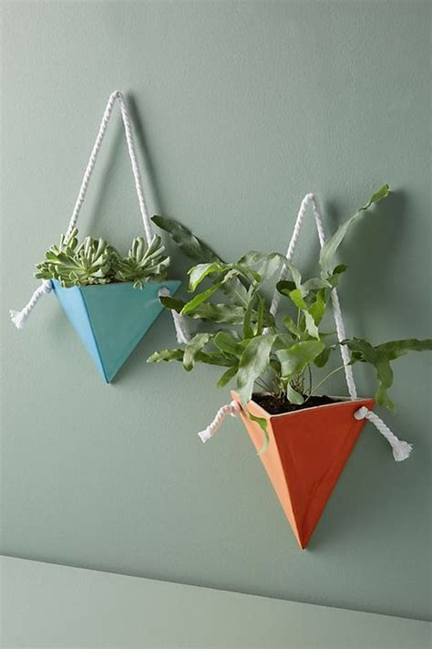 wall planter planters plants indoor walls anthropologie outdoor taste craft based own triangular empty choose hips boxes godiygo