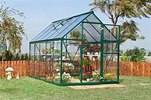Serre De Jardin Polycarbonate : serre de jardin en polycarbonate polycristal verte 6m ~ Dailycaller-alerts.com Idées de Décoration