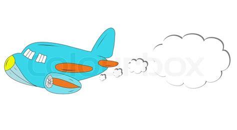 drawing cartoon airplane stock photo colourbox