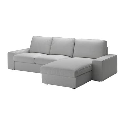 two seat sofa and chaise longue kivik two seat sofa and chaise longue orrsta light grey