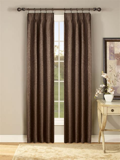 Pleated Thermal Drapes - new gabrielle foam back insulated pinch pleat curtain