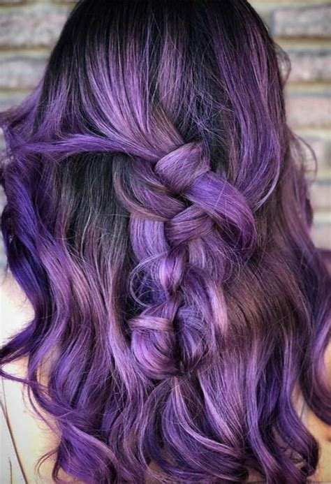 100 Best Light Purple Hair Colors And Hairstyles 2019