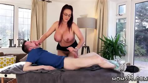 Hot Milf Brunette Doggy Big Tit Step Mom Gets A Massa