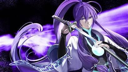 Gakupo Vocaloid Eyes Kamui Anime Purple Katana