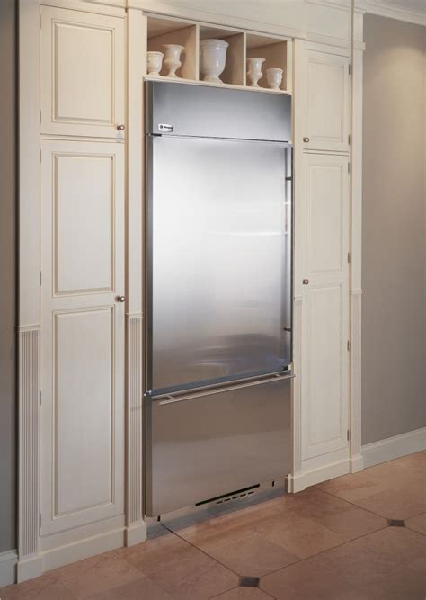 zicsnhrh monogram  built  bottom freezer refrigerator stainless steel
