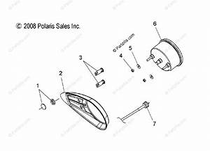 Polaris Snowmobile 2009 Oem Parts Diagram For Electrical