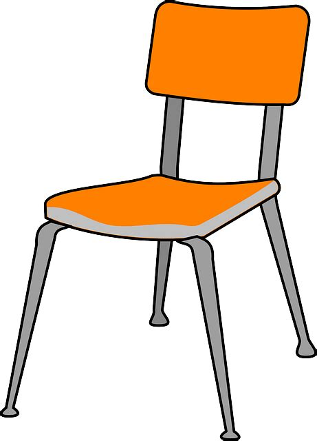 Chair Plastic Furniture · Free Vector Graphic On Pixabay