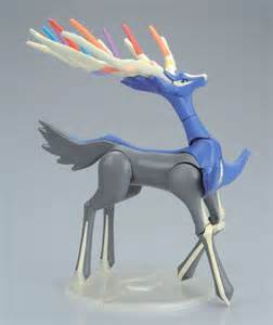 Pokemon Yveltal and Xerneas Head