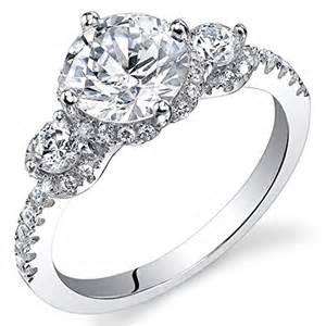 bague mariage diamant revoni bague de fiançailles femme argent 925 1000 diamant de culture