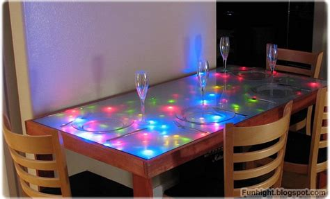 diy led light table diy hack howto build your own led coffee table