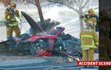Graphic Photos: OMG!!!! See Paul Walker's Dead Body And