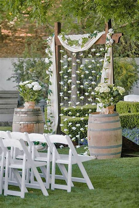 17 best ideas about outdoor wedding backdrops on pinterest