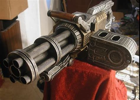 Pineapplebobthegreat's Knex Minigun