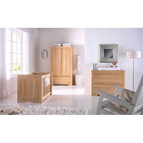 kidsmill bretagne oak nursery furniture set