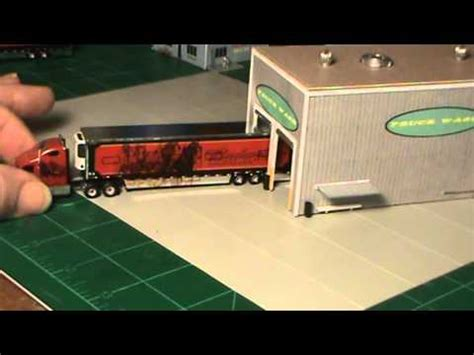 scale truck stop project youtube