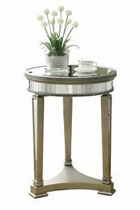 Table D Appoint Miroir : table d 39 appoint monarch specialties en miroir et argent ~ Teatrodelosmanantiales.com Idées de Décoration