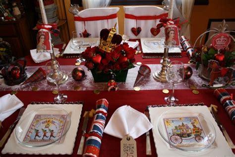 decoration de noel en anglais une table de no 235 l quot royale quot