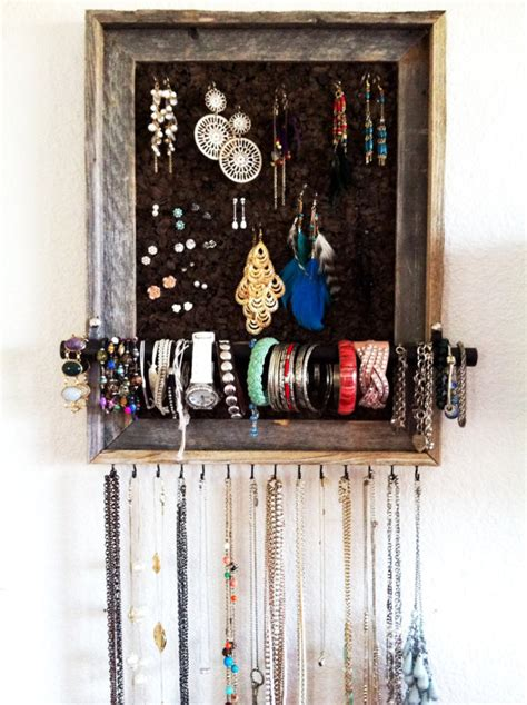 extremely creative diy jewelry storage solutions