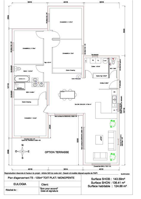 maison plain pied 2 chambres plans maisons plain pied 2 chambres maison moderne