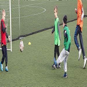 Teaching Football Skills to Children