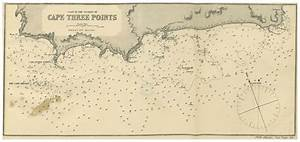 Cape Nautical Chart Cape Three Points Wikipedia