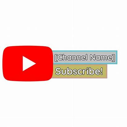 Template Maker Subscribe Channel Templates Transparent Banner
