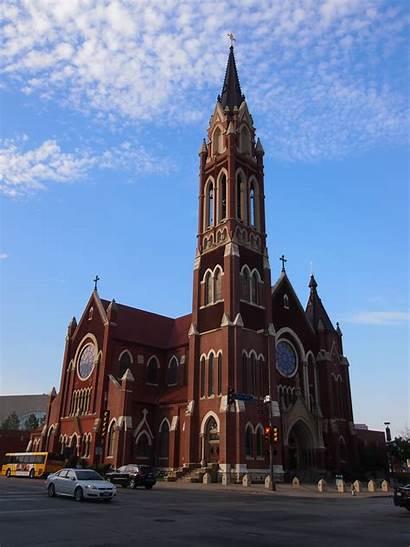 Texas Churches Dallas Downtown Cathedral Guadalupe Santuario