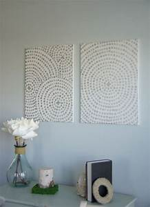 diy canvas wall art a low cost way to add art to your home With diy wall art