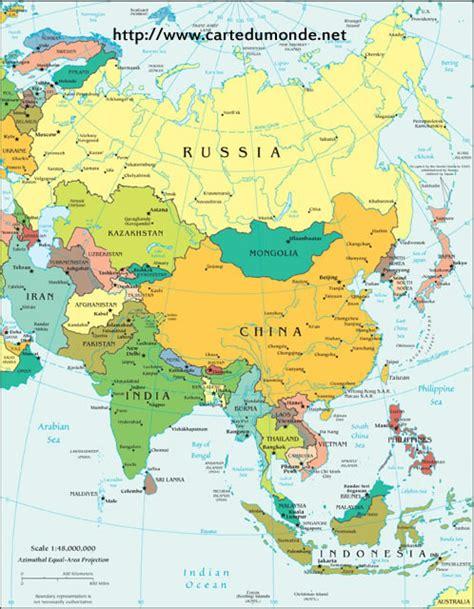 Carte Politique Du Monde à Imprimer by Carte Asie Politique Carte Du Monde