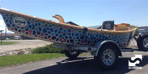 Bass Pro Drift Boats by Custom Drift Boat Wrap 183 Scs Wraps