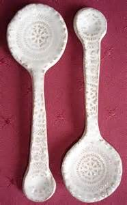 Making Spoons From Clay Ceramic