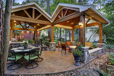 outdoor living spaces archives texas custom patios