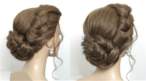 New Juda Hairstyle For Party. Simple Twisted Hair Bun