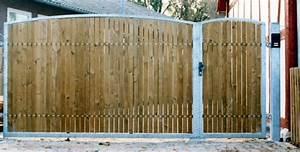 Gartentore Aus Holz Bilder : tor metall mit holz ~ Michelbontemps.com Haus und Dekorationen
