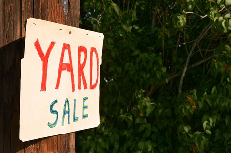 Tips for Yard Sale Success | Green America