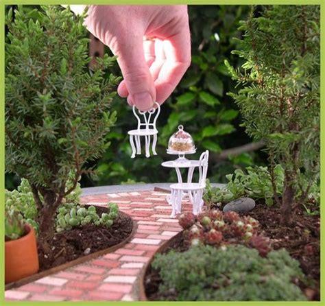 Create Your Very Own Miniature Garden Patio