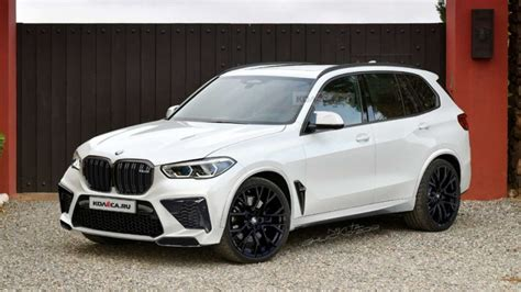 Bmw X5 M Picture by 2020 Bmw X5 M Puts On Production Clothes In New Renderings