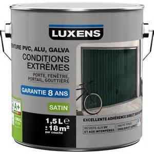 peinture pvc alu galva exterieur conditions extremes With peinture pour pvc blanc