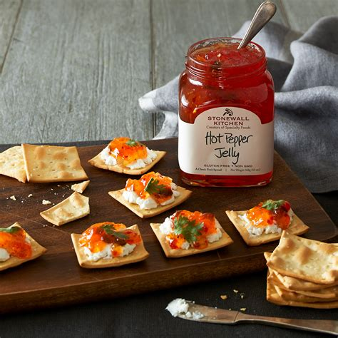 hot pepper jelly jams preserves spreads stonewall