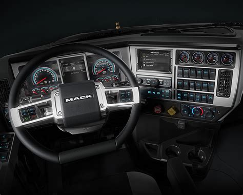 mack pinnacle granite models   update truck news