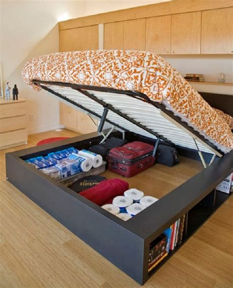 Bett Mit Aufbewahrung by How To Build A Size Platform Bed With Storage